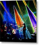 Mule #35 Psychedelically Enhanced Metal Print