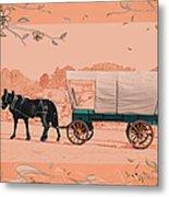 Mule Days - Westmoreland Tn  9-28-13  2 Metal Print