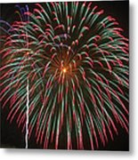 4th Of July Fireworks 16 Metal Print