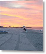 Multi Color Skies - Cape May New Jersey Metal Print