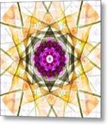 Multi Flower Abstract Metal Print