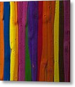 Multicolored Paint Can  Metal Print