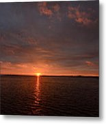 Multicolored Sunrise Metal Print