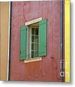 Multicolored Walls, France Metal Print
