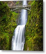Multnomah Panorama Metal Print