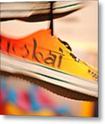 Mumbai Shoes Metal Print