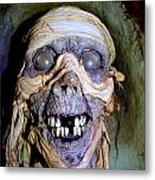 Mummified Mike Metal Print