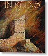 Mummy Cave Ruins II Greeting Card Metal Print