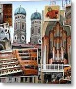 Munich Liebfrau Metal Print