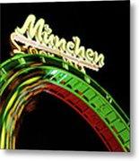 Munich Looping Metal Print