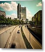 Munich Traffic Metal Print