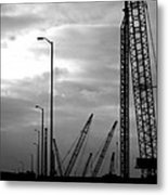 Municipal Construction  Metal Print