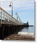 Municipal Wharf At The Santa Cruz Beach Boardwalk California 5d23768 Metal Print