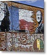 Mural And Graffiti Metal Print