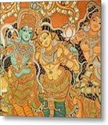 Muralpainting Devotion Metal Print