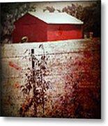 Murder In The Red Barn Metal Print