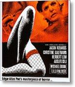 Murders In The Rue Morgue, Herbert Lom Metal Print