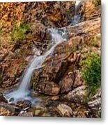 Murdock Basin Falls 2 Metal Print