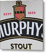Murphy's Stout Metal Print