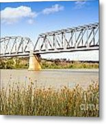 Murray Bridge Metal Print