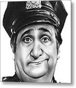 Murray The Cop Metal Print