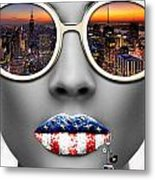Musa New York Metal Print