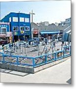 Muscle Beach Gym In Venice California Metal Print