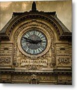Musee Orsay Metal Print