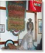 Museum Pieces Metal Print