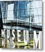 Museum Reflection Metal Print