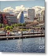 Museum Water Way View Metal Print