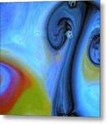 Mushroom Colors Metal Print by Riad Belhimer