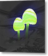 Couple Of Mushrooms Metal Print