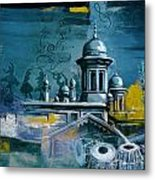 Music And Heritage Metal Print by Catf