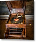 Music Box Metal Print