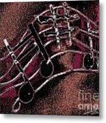 Music Capitol A 4 Metal Print