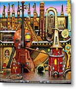 Music Castle Metal Print