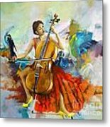 Music Colors And Beauty Metal Print