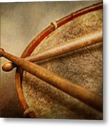 Music - Drum - Cadence  Metal Print by Mike Savad
