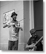 Music In The French Quarter Metal Print