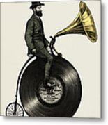 Music Man Metal Print by Eric Fan