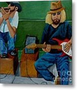 Music Of The Street Metal Print