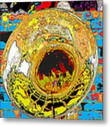 Music Out Of Metal Xiii Metal Print