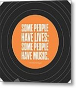 Music Quotes Typography Print Poster Metal Print by Lab No 4 - The Quotography Department