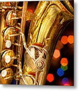 Music - Sax - Very Saxxy Metal Print