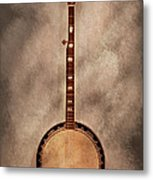 Music - String - Banjo  Metal Print by Mike Savad
