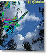 Music Up In The Clouds Metal Print
