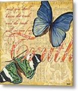 Musical Butterflies 3 Metal Print