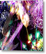 Musical Lights Metal Print