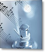 Musical Tune Metal Print